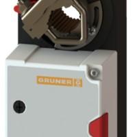 Электропривод  GRUNER 227-ая серия. IP54, подключение - кабель 1 м.