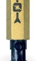 VFU Пяточный клапан из латуни для дизтопливных баков WATTS
